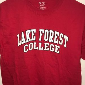 Tops - Lake Forest College t-shirt